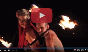 Watch us perform with fire