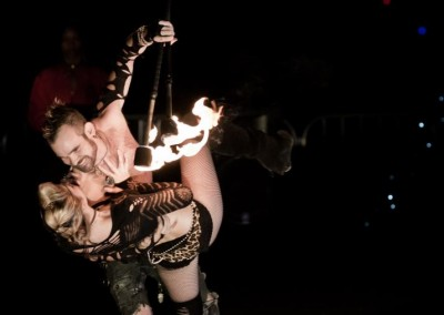 Fire Dancer Duo