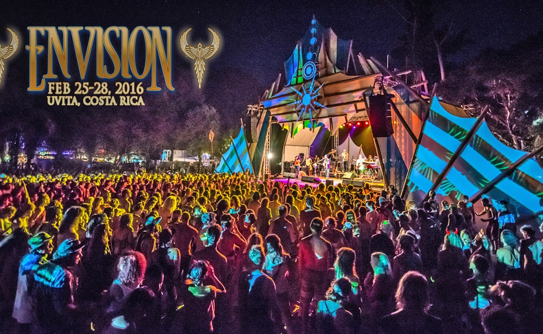Envision Festival Fire Dance Highlights