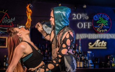 Holiday Entertainment and Fire Dance Performance to Celebrate your Seasons With