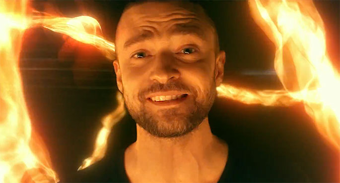 Fire Dancing with Justin Timberlake – Supplies Music Video