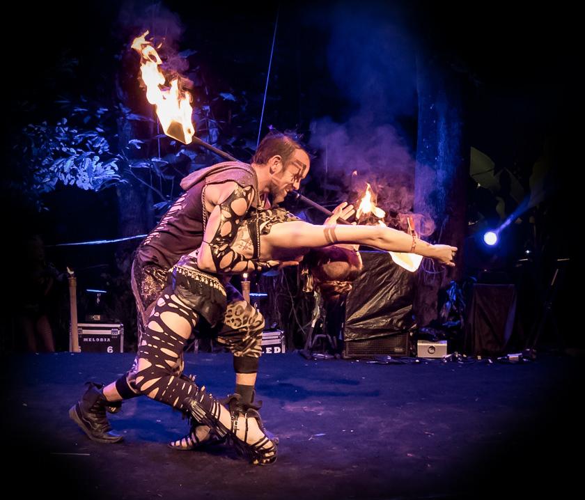 Los Angeles Fire dancers dancer performers entertainment event design
