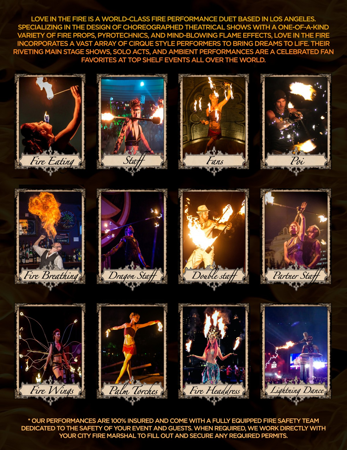 Fire Dancers Performers fire dance hire the best los angeles entertainment event