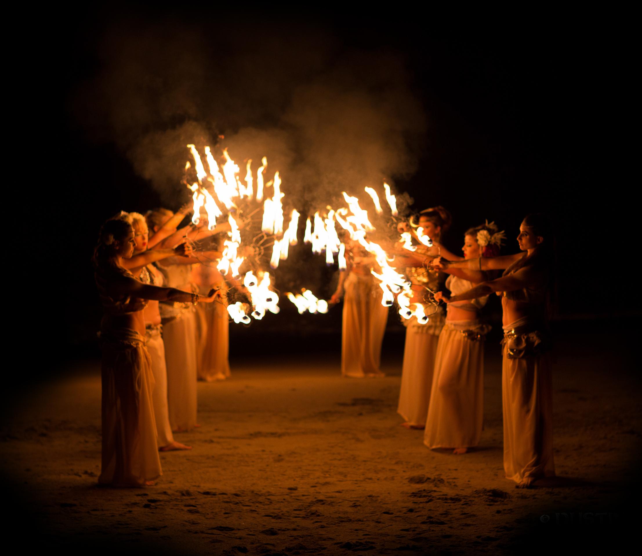 Los Angeles Fire dancers dancer performers entertainment event design New York Miami